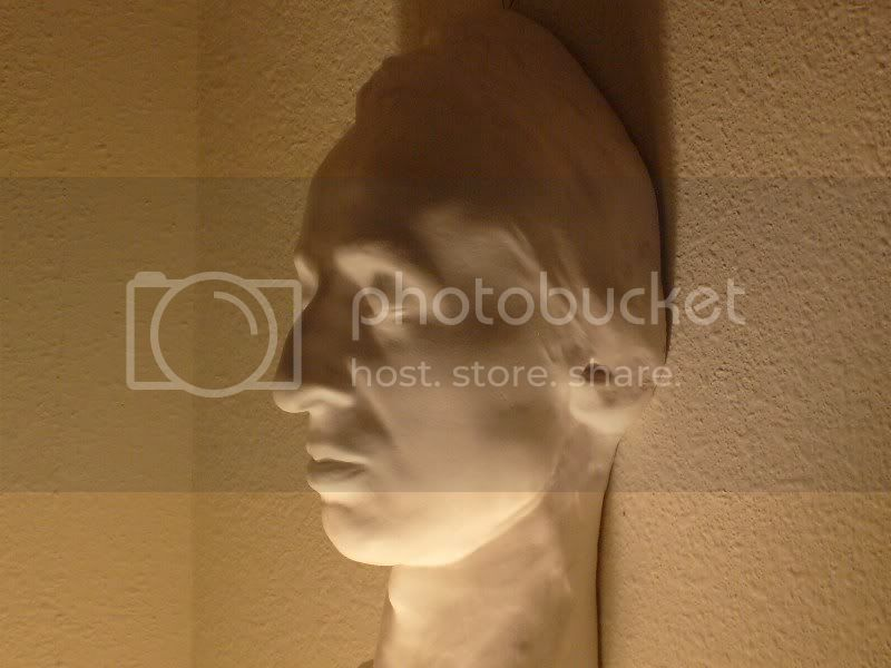 Chopin death mask side view collection of Jack Gibbons Melihat wajah asli para tokoh dunia lewat topeng kematian